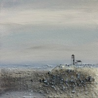 Lighthouse mini landscape