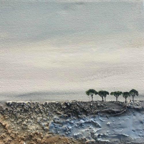 Tree mini landscape