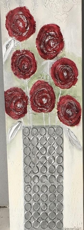 Red Rose Grean Leaf 2